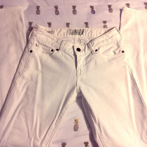 Lucky Brand White Lolitaboot Jeans Size 0/25
